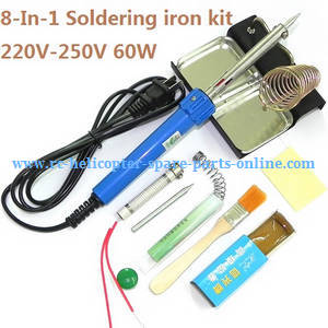 Syma Z1 RC quadcopter spare parts 8-In-1 Voltage 220-250V 60W soldering iron set