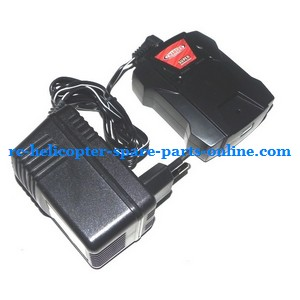 ZHENGRUN ZR Model Z100 RC helicopter spare parts charger + balance charger box (set)