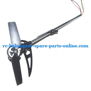ZHENGRUN ZR Model Z100 RC helicopter spare parts tail set