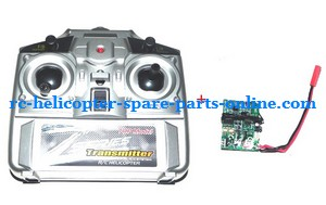 ZHENGRUN ZR Model Z100 RC helicopter spare parts transmitter + PCB board (set)