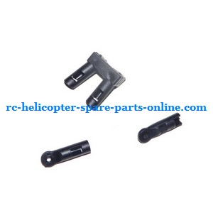 ZHENGRUN ZR Model Z100 RC helicopter spare parts fixed set of the support bar and decorative set