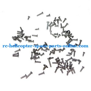 ZHENGRUN ZR Model Z100 RC helicopter spare parts screws set