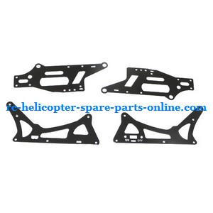 ZHENGRUN ZR Model Z100 RC helicopter spare parts metal frame set