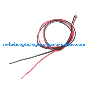 ZHENGRUN ZR Model Z100 RC helicopter spare parts tail motor wire line
