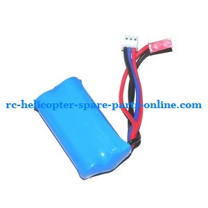 ZHENGRUN ZR Model Z101 helicopter spare parts battery 7.4V 650MaH JST plug