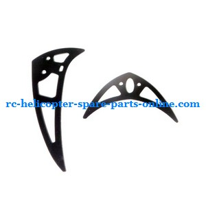 ZHENGRUN ZR Model Z101 helicopter spare parts tail decorative set