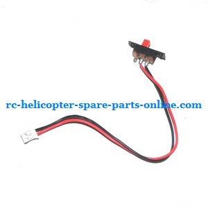ZHENGRUN ZR Model Z101 helicopter spare parts on/off switch wire