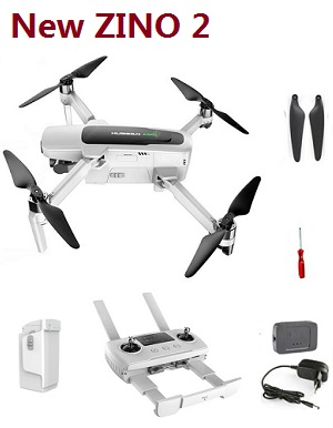 New Hubsan ZINO 2 RC Drones with 1 battery RTF