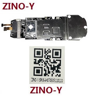 Hubsan H117S ZINO RC Quadcopter spare parts main flying control PCB receiver board