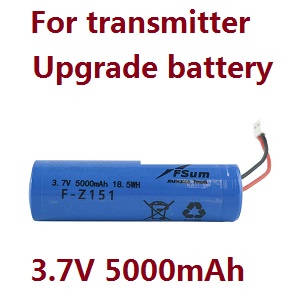 Hubsan ZINO 2+ plus RC drone spare parts upgrade battery for the transmitter 3.7V 5000mAh