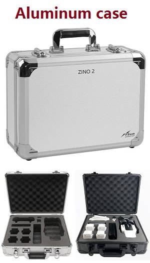 Hubsan ZINO 2+ plus RC drone spare parts aluminum case