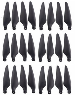 Hubsan ZINO 2+ plus RC drone spare parts main blades 3 sets (Black)