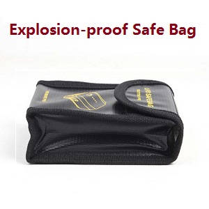 Hubsan ZINO 2+ plus RC drone spare parts explosion-proof safe bag of the battery