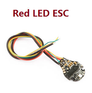 Hubsan ZINO 2+ plus RC drone spare parts Red led ESC board