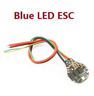 Hubsan ZINO 2+ plus RC drone spare parts Blue led ESC board